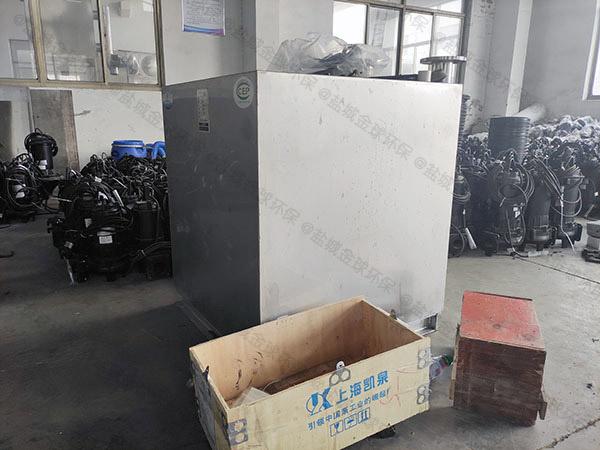 商品房地下室公用污水提升机工作时间