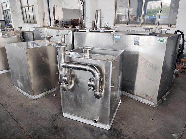 卫浴外置泵反冲洗型污水提升器装置需要通气