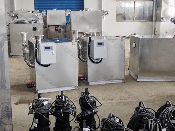 马桶地漏家装污水隔油提升器的寿命
