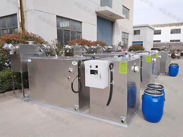 厨用室内简单一体化隔油强排设备要求