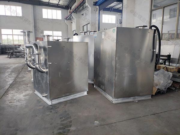 马桶地漏餐饮污水处理提升器排水口漏水