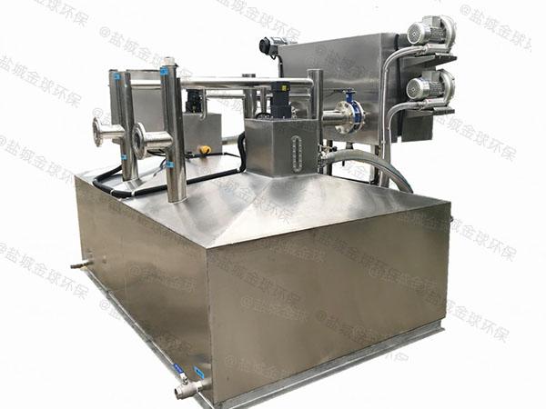 餐饮业地下式全能型一体化隔油提升装置销售