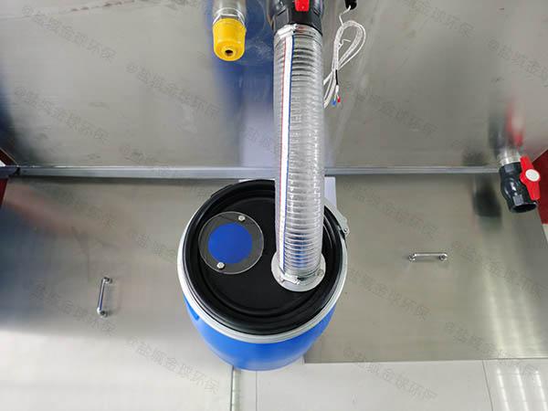 餐饮行业室内全自动智能型下水隔油池选择