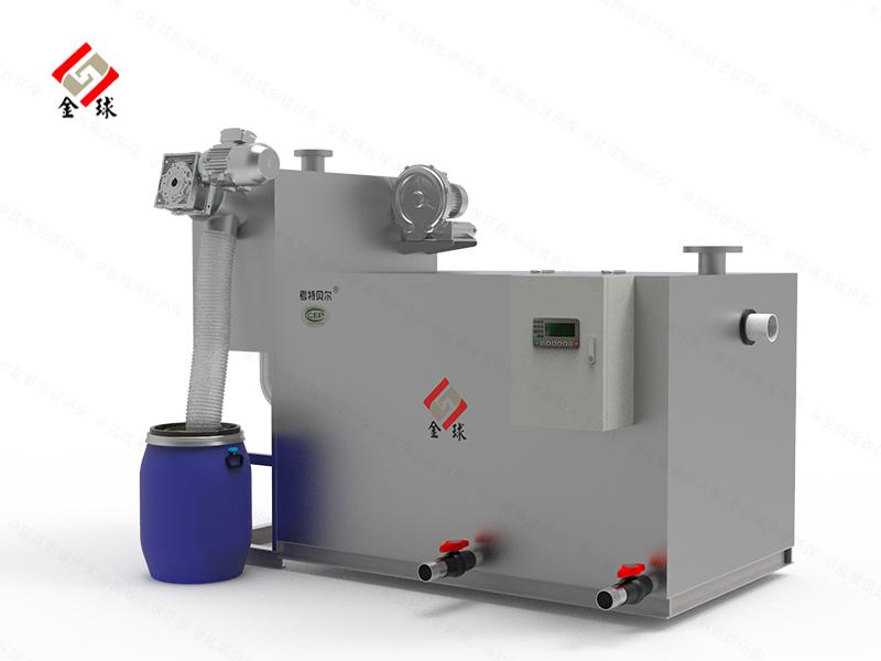 餐用埋地式多功能一体隔油提升设备制作方法