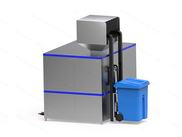 小型餐馆厨房垃圾废水处理系统运行原理