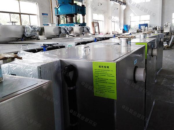 地埋加热餐厨垃圾垃圾油水分离设备价格