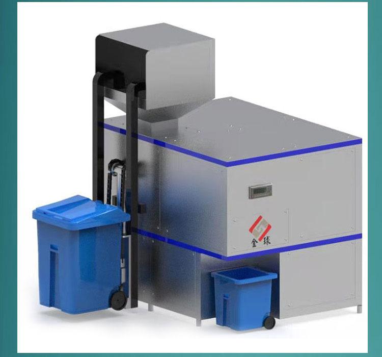 日处理5吨商场餐厨垃圾废水处理装置制造厂家
