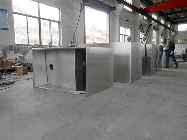 埋地多功能餐厅垃圾油水分离处理设备的作用