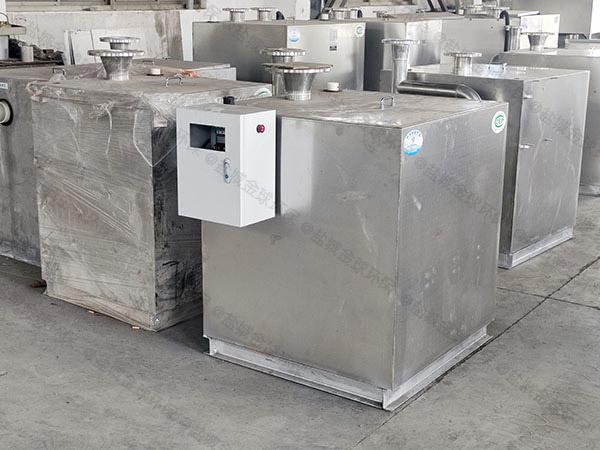 奶茶店双泵污水隔油提升器可以自己组装吗