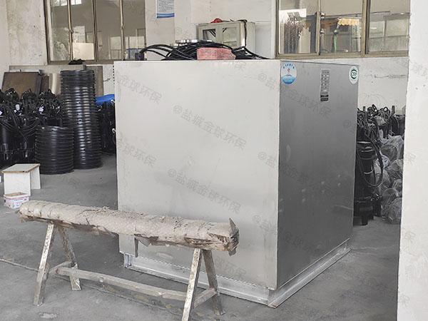 商品房地下室上排式污水处理提升器如何打开清洗