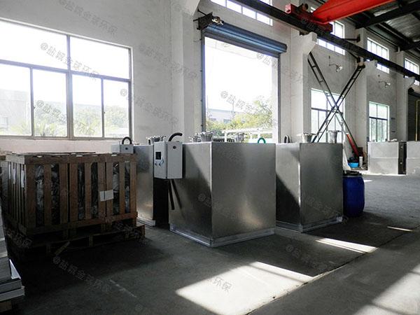 地下室全自动污水排放提升设备可以冲纸吗