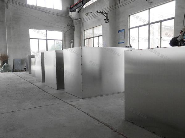 地下自动排水饭店油污水分离器设计规范