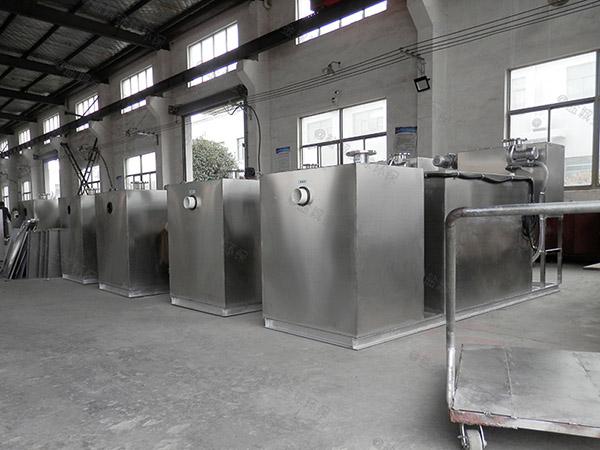 地下智能化餐厅油污水分离器规格型号及容量