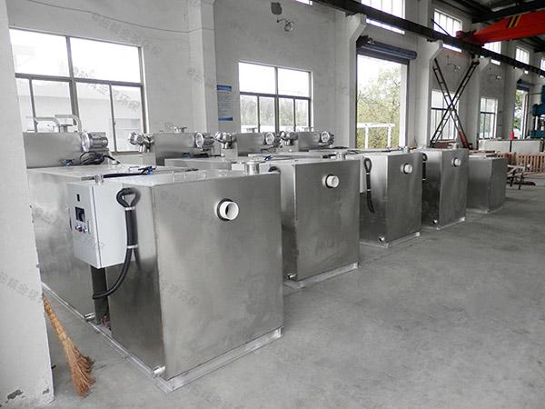 地上式分体式饭店垃圾油水分离厂家联系方式