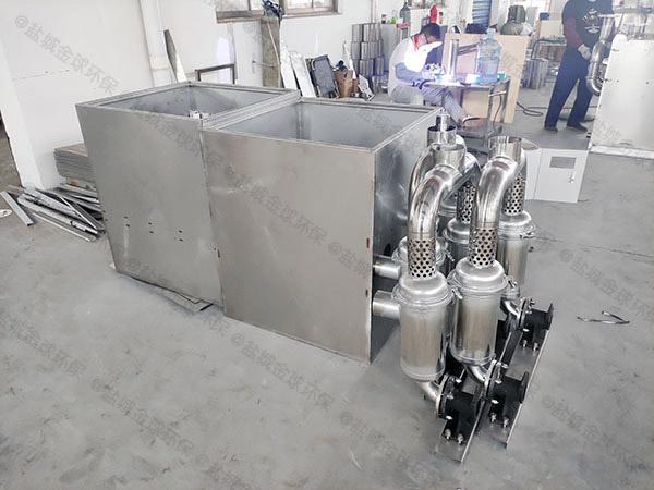 地上式自动排水餐厨油水分离器规格