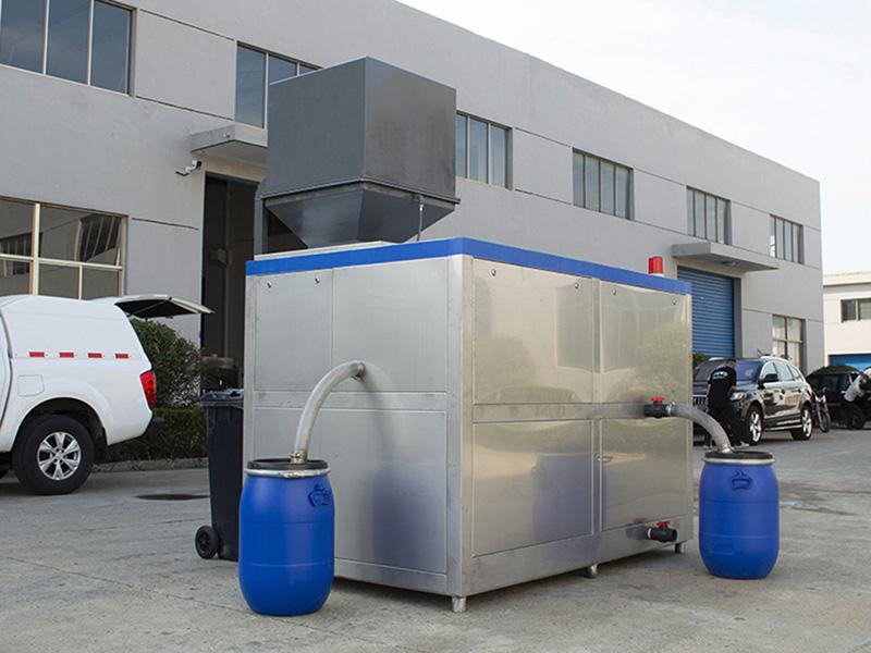 环保酒店厨房垃圾油水分离一体系统价格