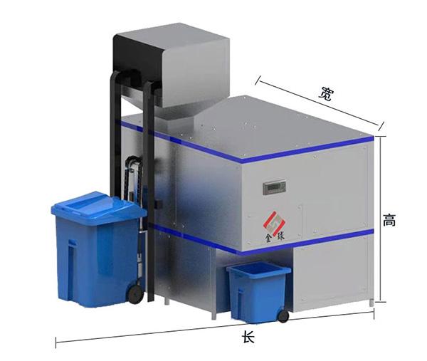 日处理10吨商场餐饮垃圾处理系统批发厂家